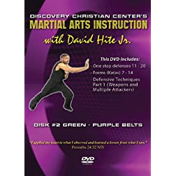 Martial Arts Instruction with David Hite Jr. - Green/Purple Belts