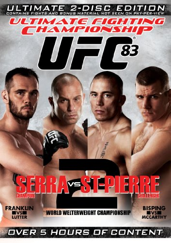 UFC 83: Serra Vs. St-Pierre 2