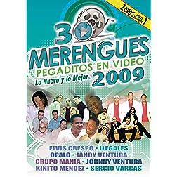30 Merengues Pegaditos en Video: Lo Nuevo y lo Mejor 2009