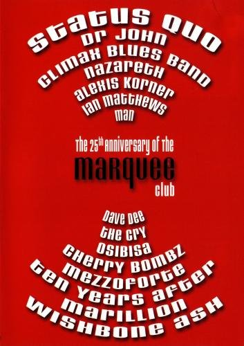 The 25th Anniversary of the Marquee club