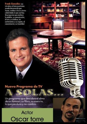 """A Solas..."" Oscar Torre, actor"