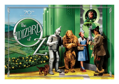 The Wizard of Oz (70th Anniversary Ultimate Collector's Edition with Digital Copy and Amazon Exclusive Set of 4 Collectible 8x10 Character Posters)