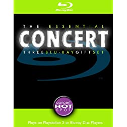 The Essential Concert Three Blu-ray Gift Set [Blu-ray]