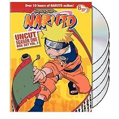 Naruto Uncut Box Set: Season One, Vol. 1