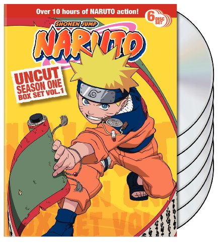 Naruto Uncut Box Set: Season One, Vol. 1