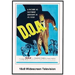 D.O.A. 16x9 Widescreen TV.