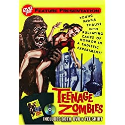 Teenage Zombies DVDTee (Size L)
