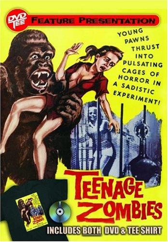 Teenage Zombies DVDTee (Size L)
