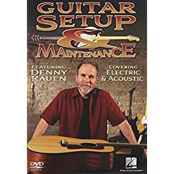 Guitar Setup & Maintenance - Instructional Guitar DVD With Denny Rauen