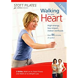 STOTT PILATES: Walking for Your Heart 2 DVD Set
