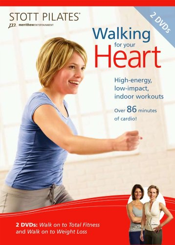 Stott Pilates Walking for Your Heart, 2 DVD Set