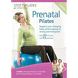 STOTT PILATES: Prenatal Pilates 2 Pack