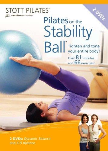 STOTT PILATES: Pilates On The Stability Ball 2 Pack