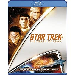 Star Trek II:  The Wrath of Khan (Restored) [Blu-ray]