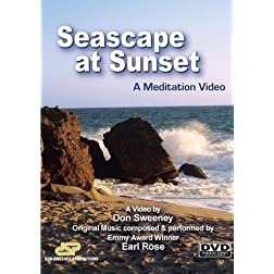 Seascape at Sunset, A Meditation Video