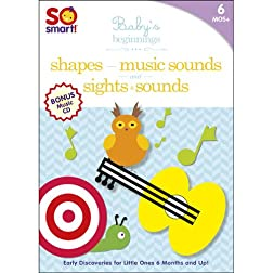 So Smart!: Sights & Sounds / Shapes / Music Sounds / Bonus CD: Playtime