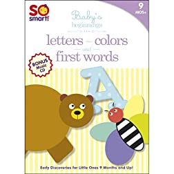 So Smart!: Letters / First Words / Colors / Bonus CD: Sleepytime
