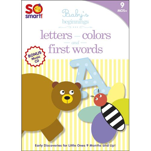 So Smart!: Letters / First Words / Colors / Bonus CD: Sleepytime