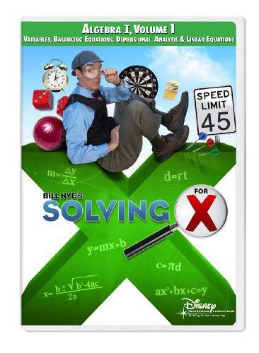 Solving For X: Algebra I, Volume 1 [Interactive DVD]