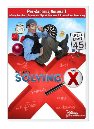 Solving For X: Pre-Algebra, Volume 1 [Interactive DVD]
