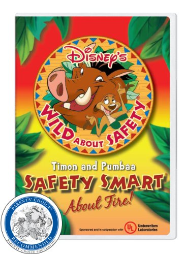 Disney's Wild About Safety with Timon and Pumbaa Safety Smart About Fire! Classroom Edition [Interactive DVD]