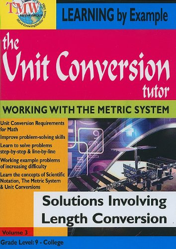 The Unit Conversion Tutor: Solutions Involving Length Conversion