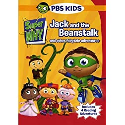 Super Why!: Jack and the Beanstalk & Other Story Book Adventures