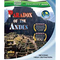 Paradox of the Andes [Blu-ray]