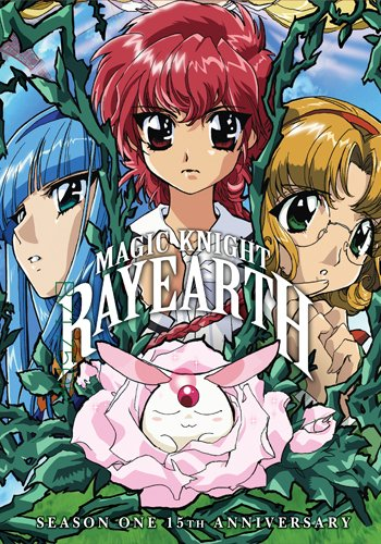 Magic Knight Rayearth Season 1 - Remastered Volumes 1- 4, Eps. 1-20