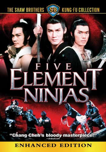 Five Element Ninjas (Shaw Brothers)