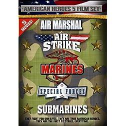 American Heroes 5 Film Set