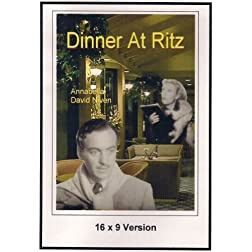 Dinner At Ritz 16x9 Widescreen TV.