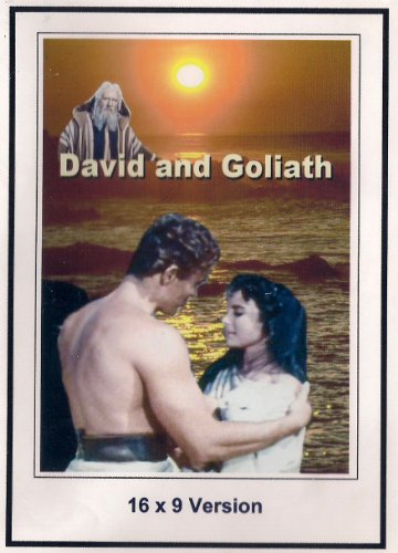 David and Goliath 16x9 Widescreen TV.