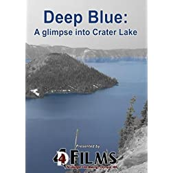 Deep Blue: A glimpse into Crater Lake