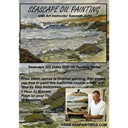 Seascape Oil Painting 202