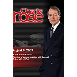 Charlie Rose - A look at Iraq's future / General Anthony Zinni (Ret)  (August 6, 2009)