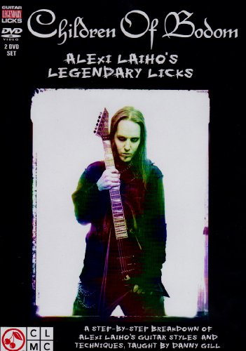 Children of Bodom Legendary Licks 2 DVD Set