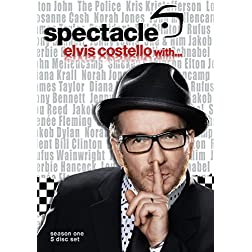 Elvis Costello: Spectacle: Season 1 (4pc) (Ac3)