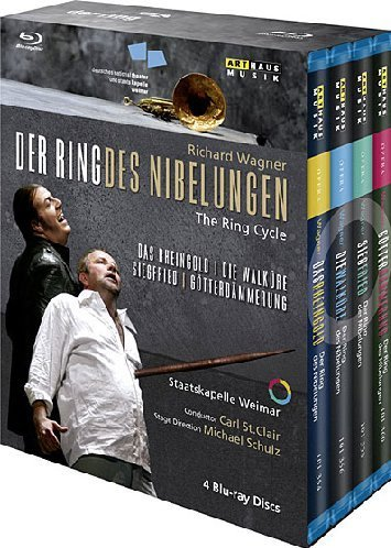 Wagner: Der Ring des Nibelungen (The Ring Cycle) [Blu-ray]