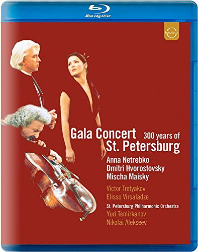 Gala Concert: 300 Years of St. Petersburg [Blu-ray]