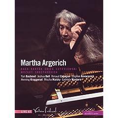 Martha Argerich: Live at Verbier Festival - Bach/Mozart / Grieg / Bartok / Lutoslawski / Shostakovich (2008)