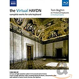Tom Beghin: The Virtual Haydn - Complete Works for Solo Keyboard [Blu-ray]