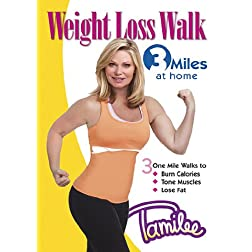 Tamilee Webb Weight Loss Walk 3 Miles at Home