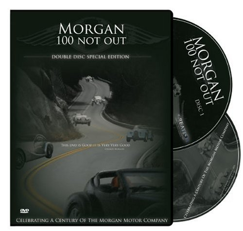 Morgan: 100 NOT OUT, limited edition double disc set - charting 100 years of the Morgan Motor Company and British Sports Car Racing