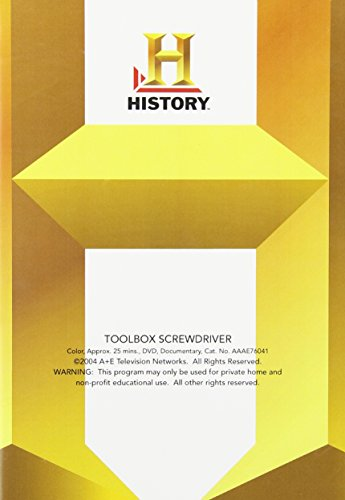 Toolbox: Screwdriver