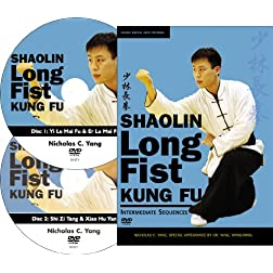 Shaolin Long Fist Kung Fu Intermediate Sequences (YMAA Kung Fu) 2-DVD set