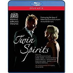 Twin Spirits: Sting performs Schumann [Blu-ray]