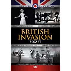 British Invasion Box Set - Small Faces / Herman's Hermits / Dusty Springfield / Gerry And The Pacemakers (4 DVD + CD Set) (PAL / Region 0)