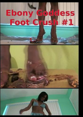 Ebony Goddess Foot Worship Crush Fetish #1