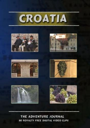 Croatia Royalty Free Stock Footage